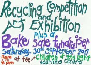 Recycling Competition and Art Exhibition - September 2017