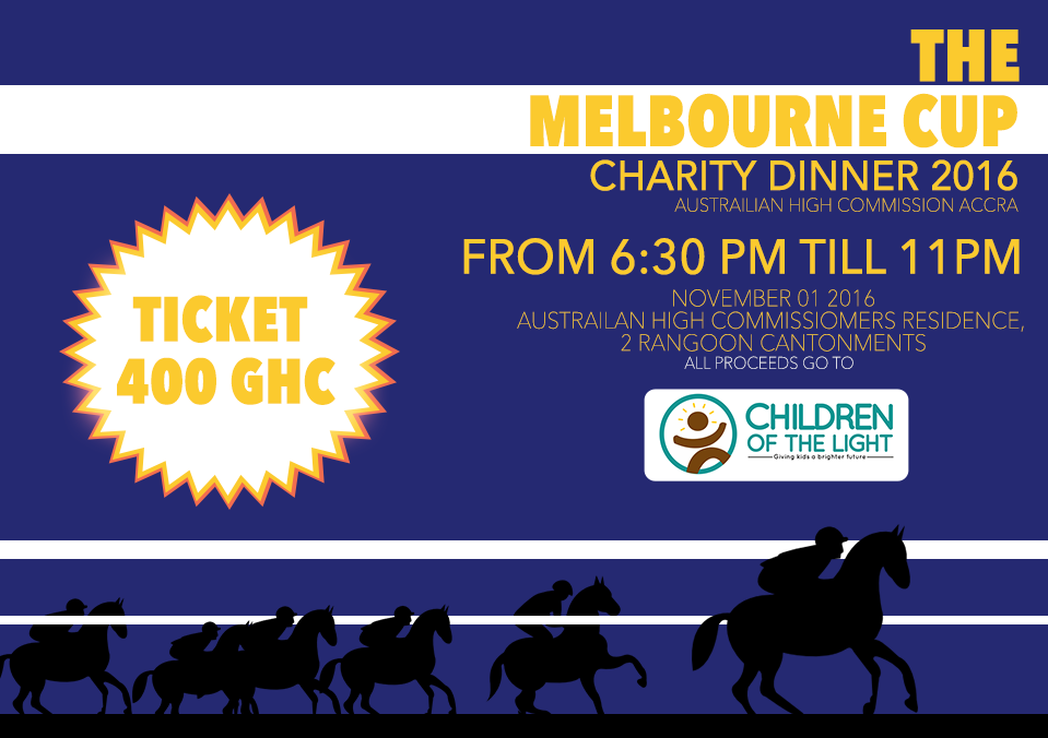 The Melbourne Cup Charity Dinner - November 2016