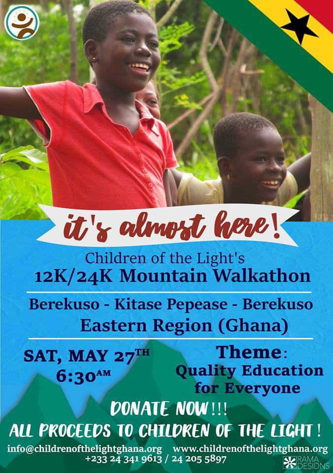 Walkathon - Quality Education for Everyone - May 2017
