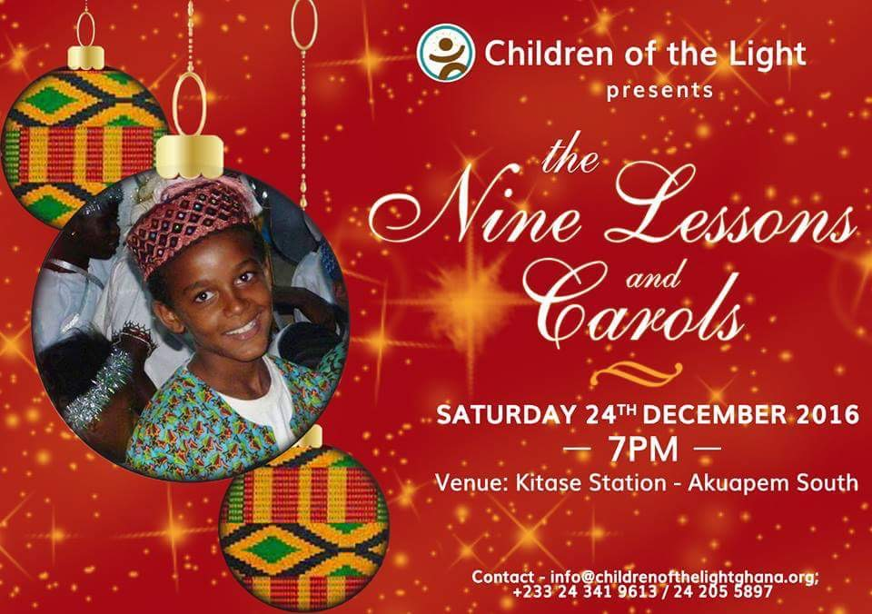 The Nine Lessons and Carols - December 2016